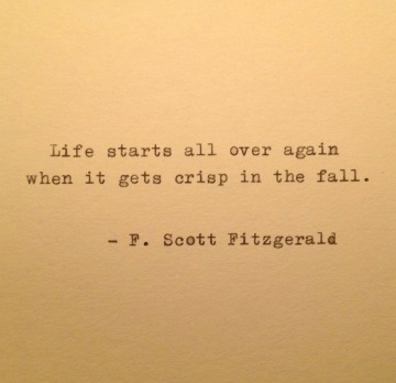 F. Scott Fitzgerald via Pinterest