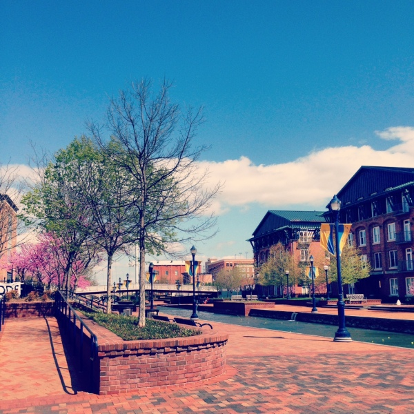 Carroll Creek in Frederick, MD on a beautiful April afternoon. | Photo by McKenna