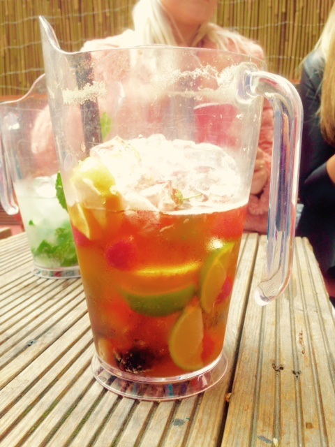 When in London ... drink Pimms!