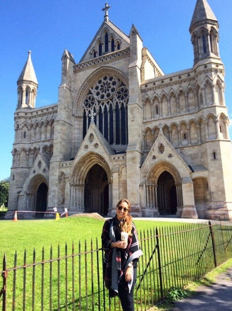 Saint Albans Cathedral in Hertfordshire