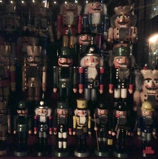 Handcrafted wooden Nutcrackers | Photo by McKenna